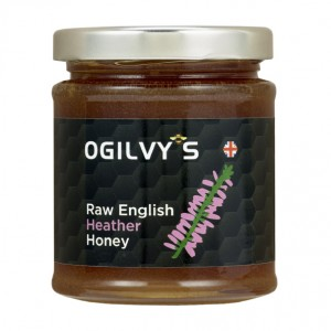 Raw English Heather Honey