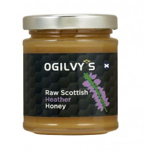 Raw Scottish Heather Honey