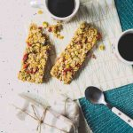 Coconut, Pistachio, Honey & Goji Berry Granola Bars