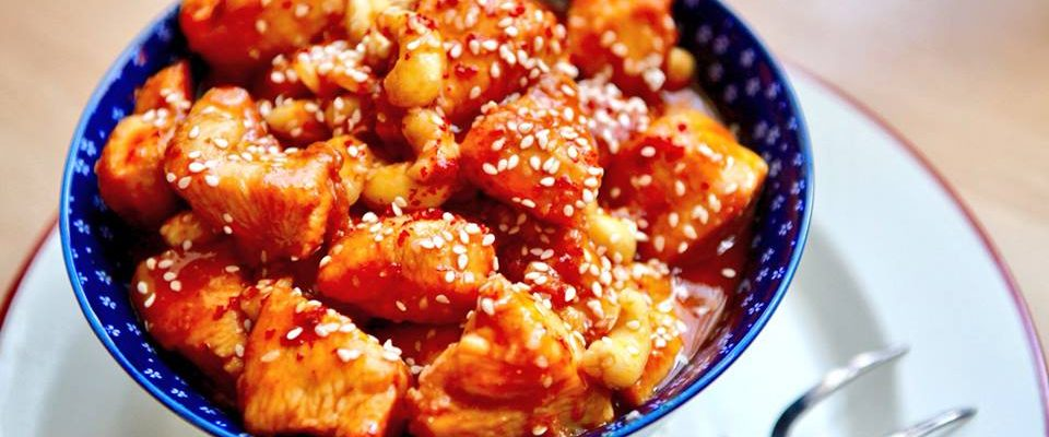Niki's Honey Sesame Chicken