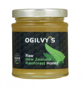 Raw New Zealand Rainforest Honey