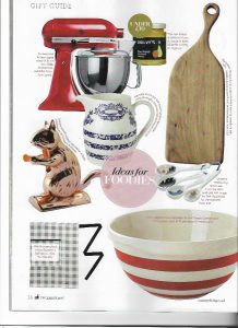 Xmas Ideas for Foodies Country Living Dec '16