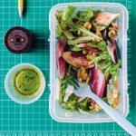 Fig, Pecorino & Red Chicory Salad with Honey & Lemon Dressing