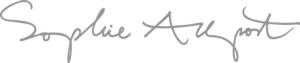 Sophie Allport Logo
