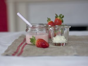 Strawberry-Kefir